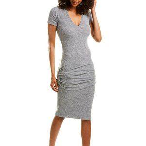 MONROW Sheath Dress Grey Heather Size L
